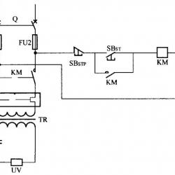 UV固化设备基本电路