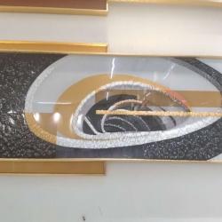 小本创业晶瓷画,1-2人可开厂,晶瓷画生产厂家技术培训