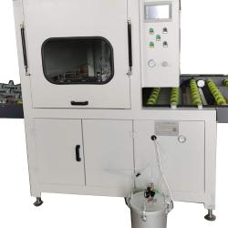 河北各种定制基材上光设备喷涂单面多面的厂家:木门五面喷涂机器