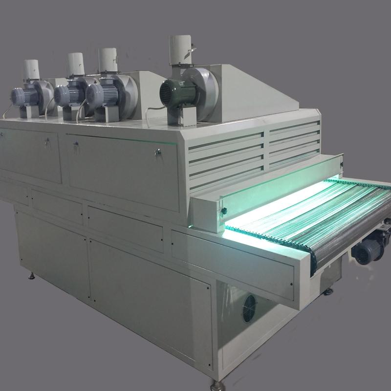 如何在玻璃上光使用的固化设备